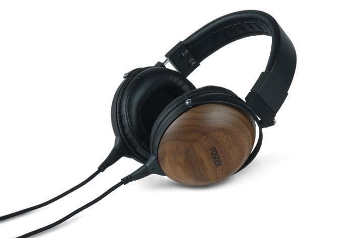 Fostex TH610 black walnut over ear headphones