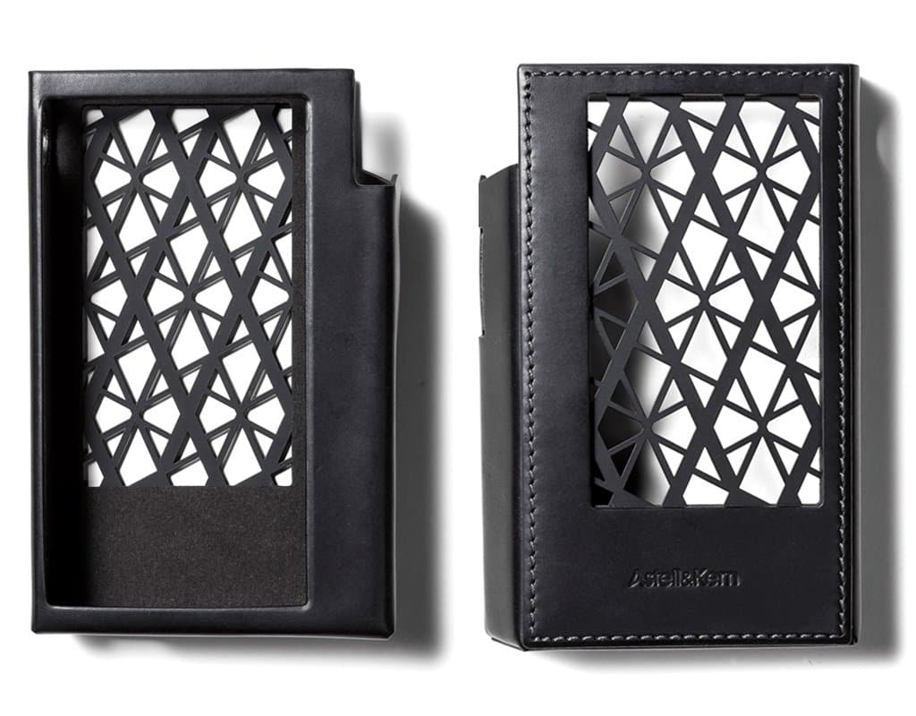 Astell & Kern KANN Cube blacck leather case