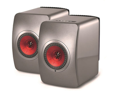 KEF LS50W grey finish acttive speaker system