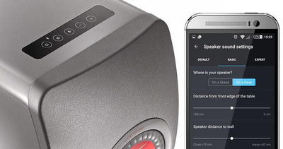 KEF LS50 Wireless app for android or IOS, basic settings