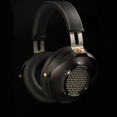 Klipsch HP3 leather and wood materials