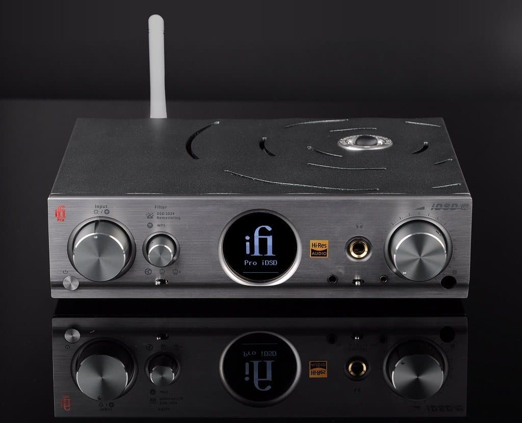 iFi Pro iDSD flaghsip dac, headphone amp