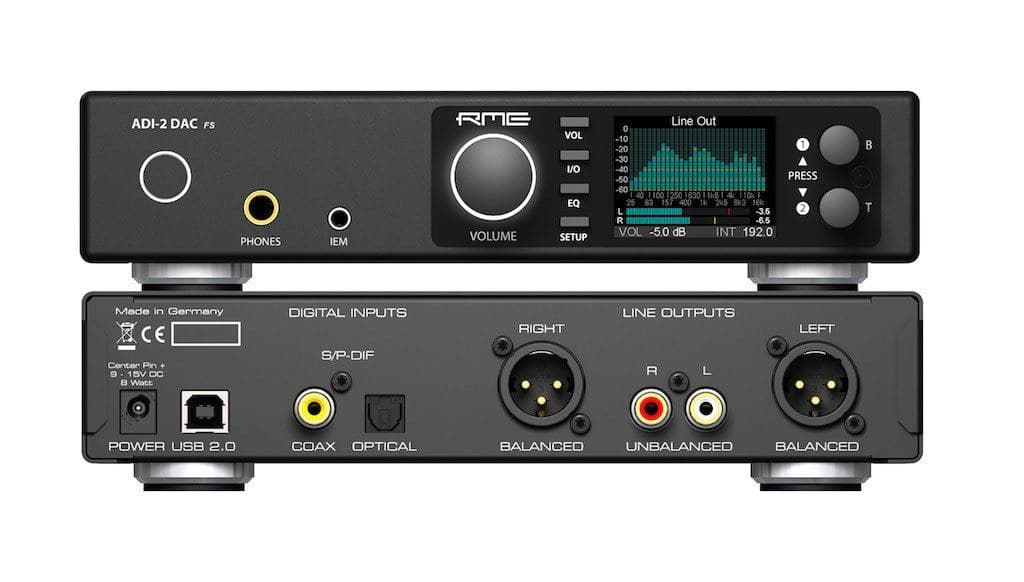 RME ADI-2 DAC, usb dac, IEM amp, headphone amp