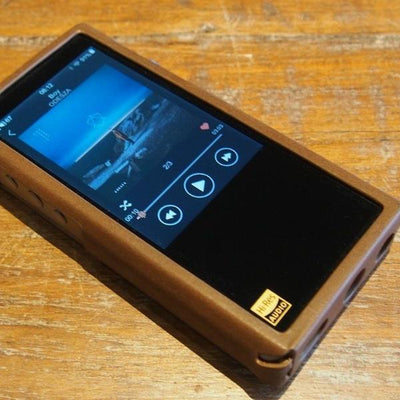 Front view, M5s carry case - music player NOT included