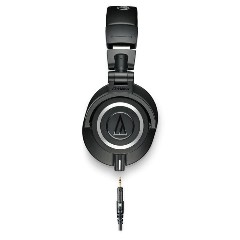 Audio Technica ATH-M50x high quality closed back headphones