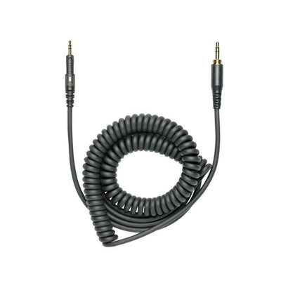 Audio Technica ATH-M50x coiled cable