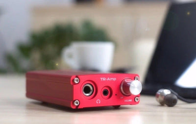 Earmen TR-Amp red ess 9038 dac and headphone amp