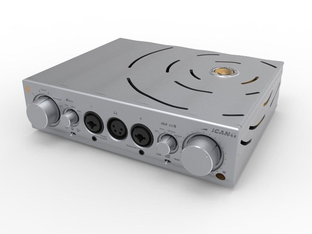 iFi Pro iCAN reference headphone amp, fully balanced, tube and solid state