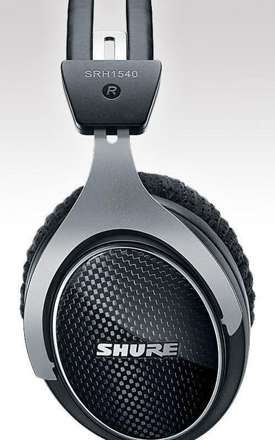 Shure SRH1540, carbon fiber back, full, deep bass sound