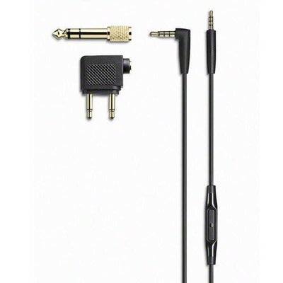 Sennheiser PXC550 with cable and charging cable