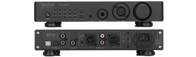 Questyle cma400i front panel, rear panel with inputs and line out