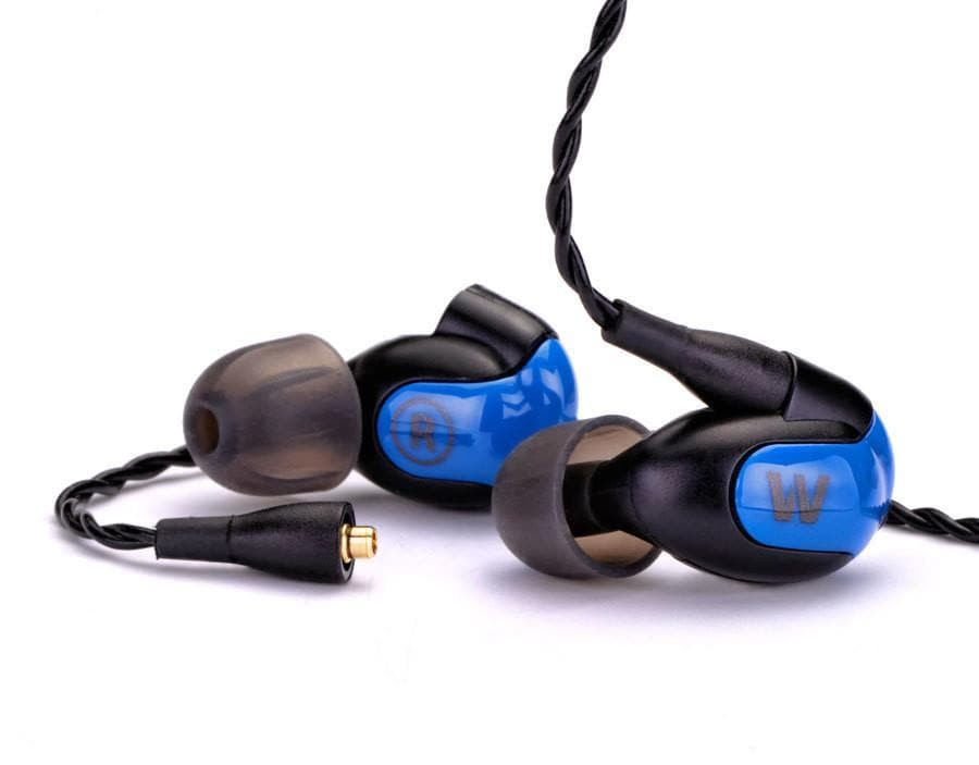 Westone W40 quad driver earphones with detachable cable