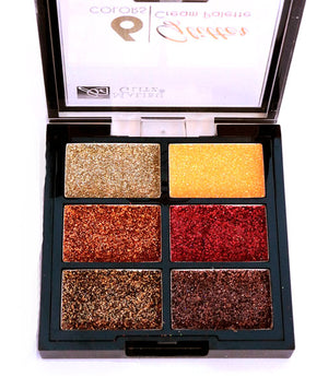 Sombras  Glitter 6 colors