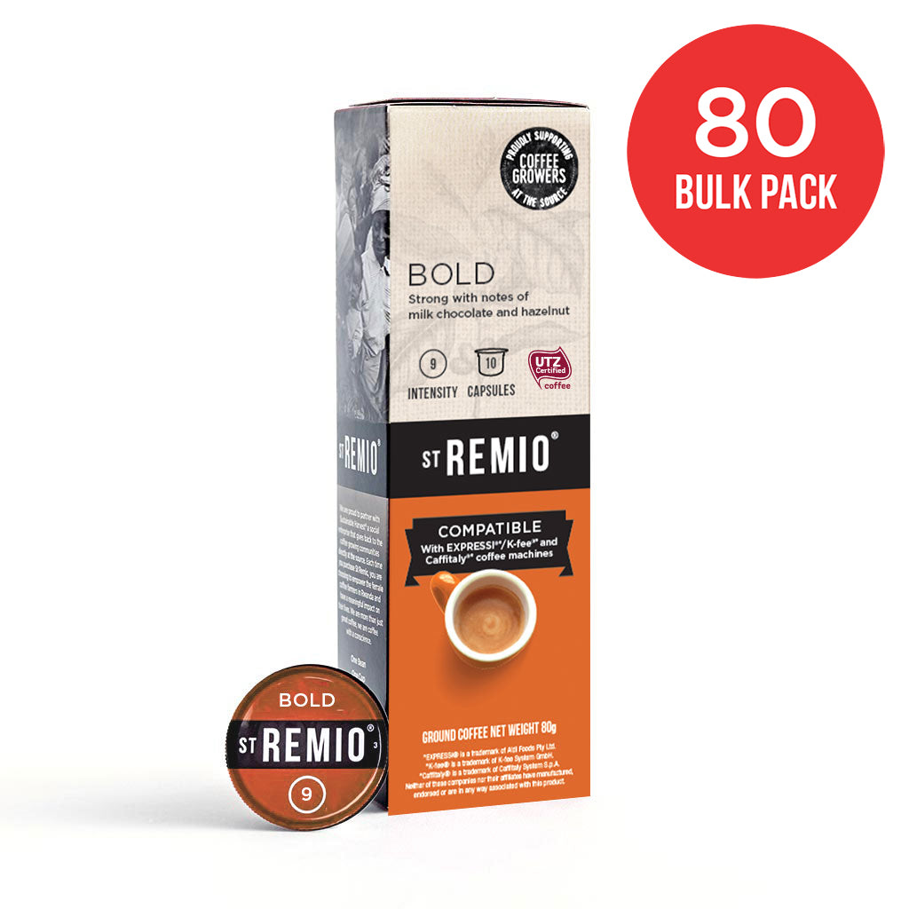 BOLD - Expressi®* / Caffitaly®* Compatible 80 Capsule BULK PACK