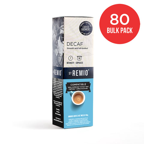 DECAF - Expressi®*/Caffitaly®* compatible 80 Capsule BULK PACK