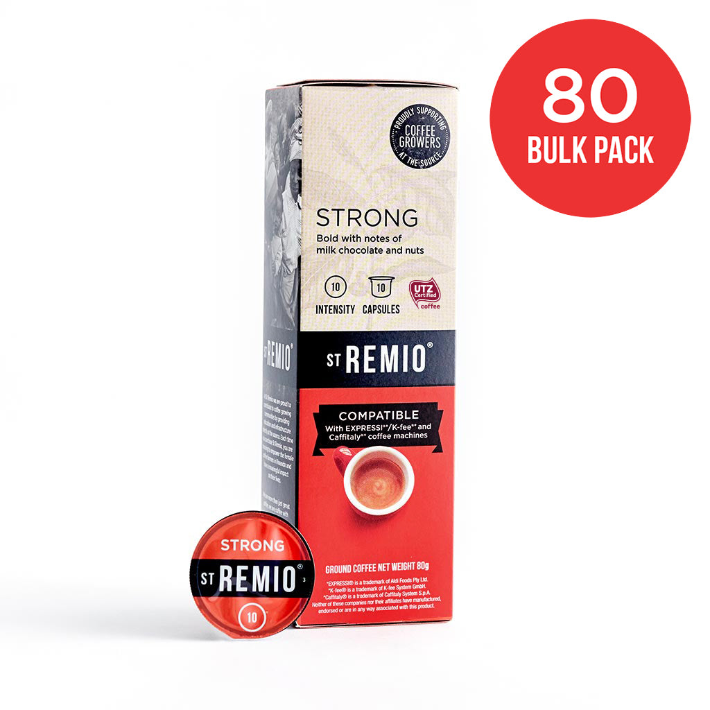 STRONG - Expressi®* / Caffitaly®* Compatible 80 Capsule BULK PACK