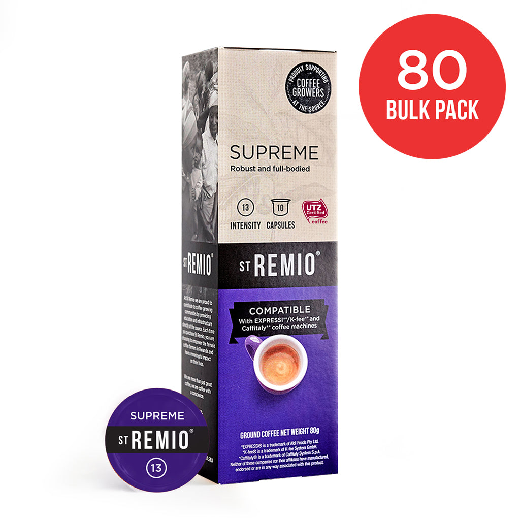 SUPREME - Expressi®* / Caffitaly®* Compatible 80 Capsule BULK PACK