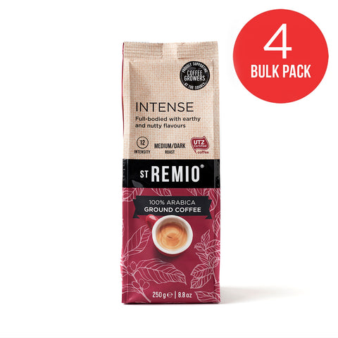 INTENSE - 4 x 250g Ground Coffee BULK PACK