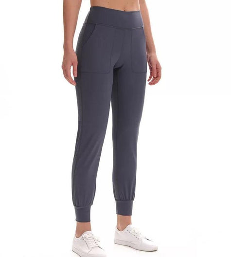 The High Waisted Jogger Leggings - TrueFeat