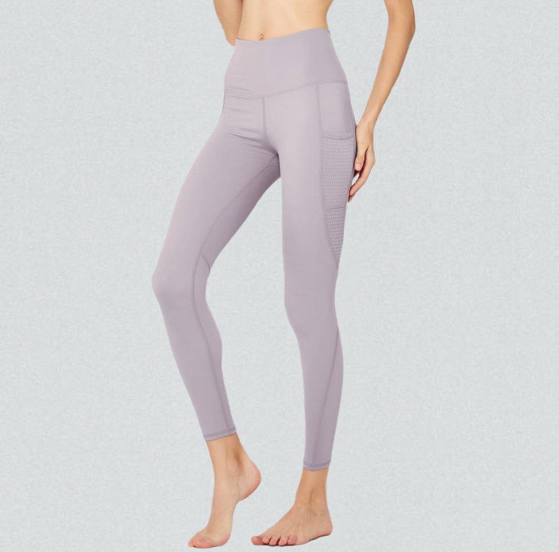 Active Mesh High Rise Leggings with Pockets - TrueFeat