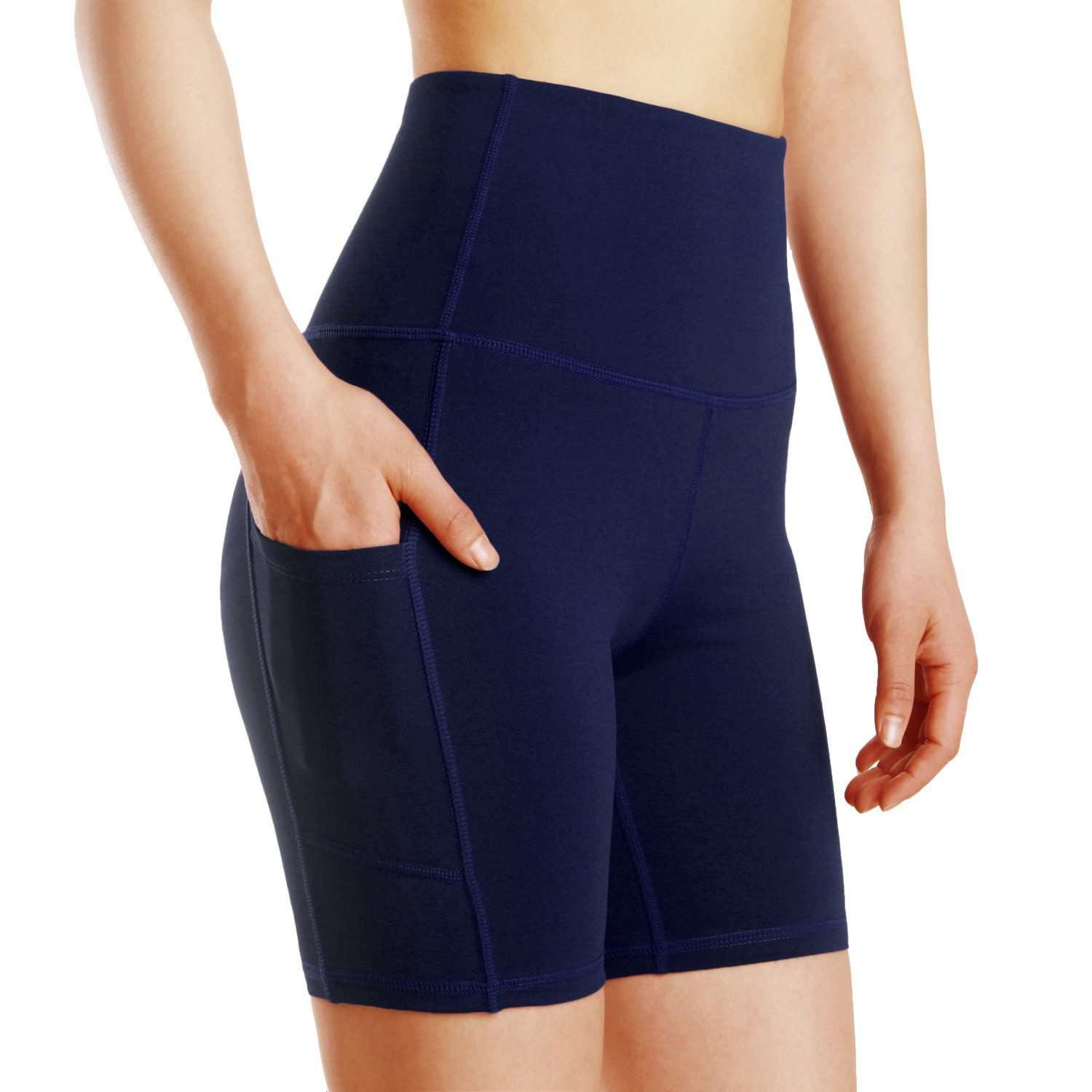 Performance Biker Shorts with Pockets - TrueFeat