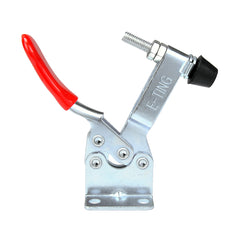 E-TING 4Pcs Hand Tool Toggle Clamp 201B Antislip Red Horizontal Clamp 201-B Quick Release Tool - E-TING