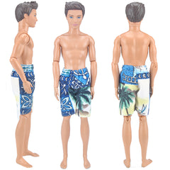 E-TING Cool Beach Swimsuit Bathing Wear Doll Clothes Swimwear for Ken Dolls Hot Summer Look (Palm,Not Include The KEN DOLL) … - E-TING