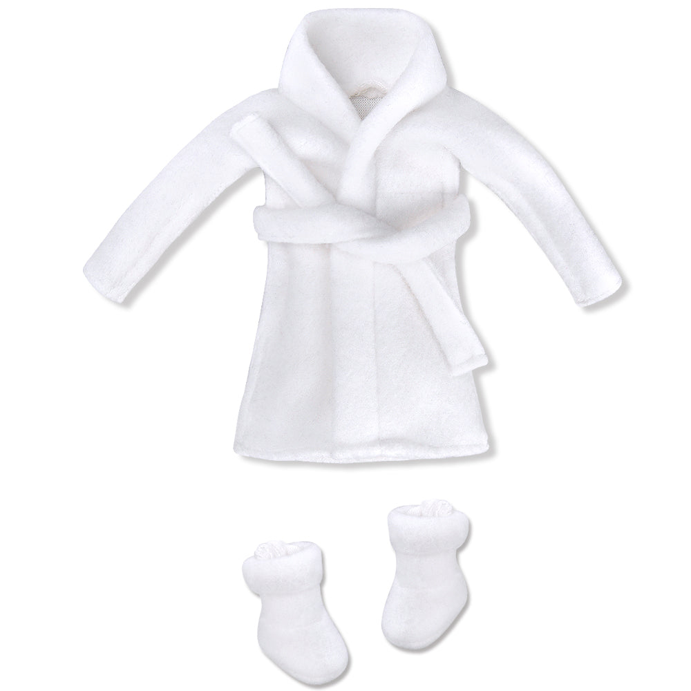 E-TING Santa Couture Clothing for elf (Bathrobe) Doll is not Included - E-TING