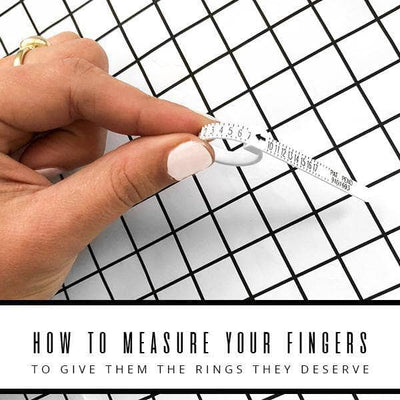 How to Measure your fingers | Free Ring Sizer