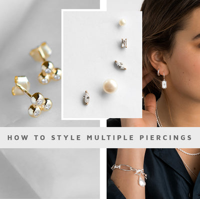 How to Style Multiple Piercings