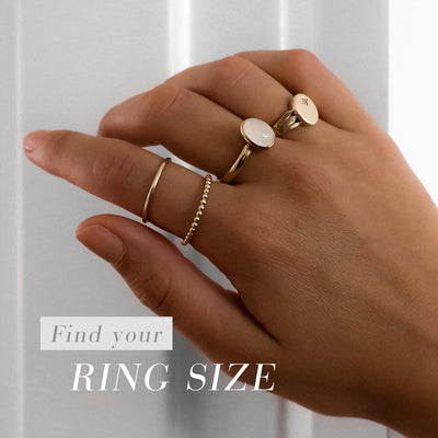 Francesca Ring Size Guide