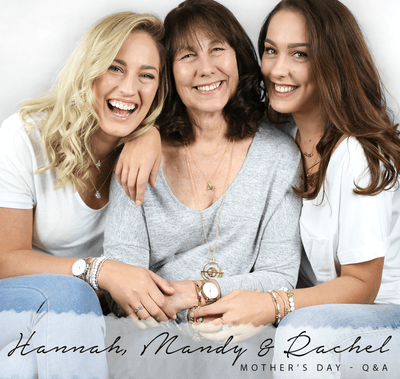 Our Q&A with Hannah, Rachel and their mum, Mandy