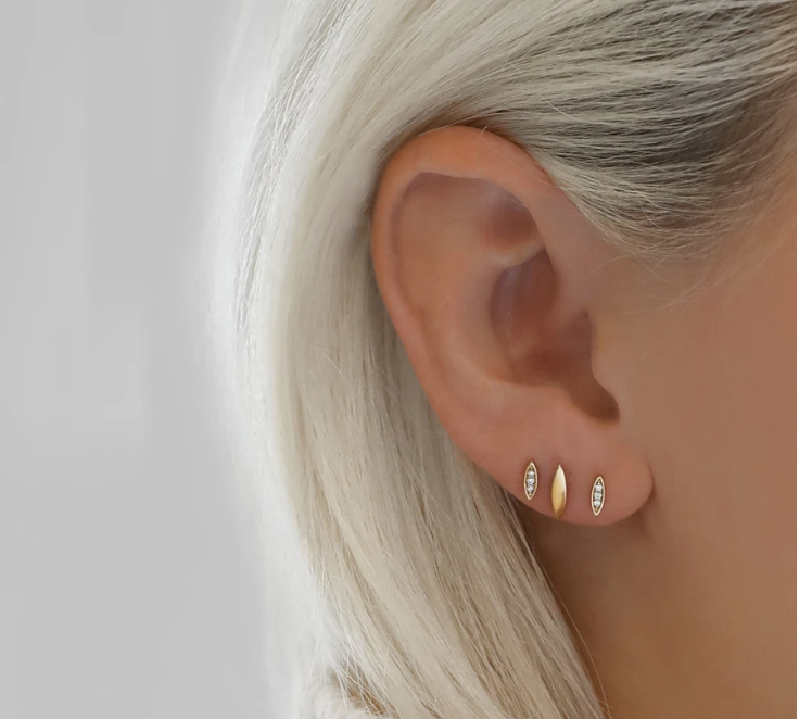 The Stud Earrings We Re Loving And A Guide On How To Wear Them Francesca Jewellery