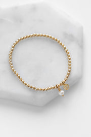 Pearl Staple Bracelet