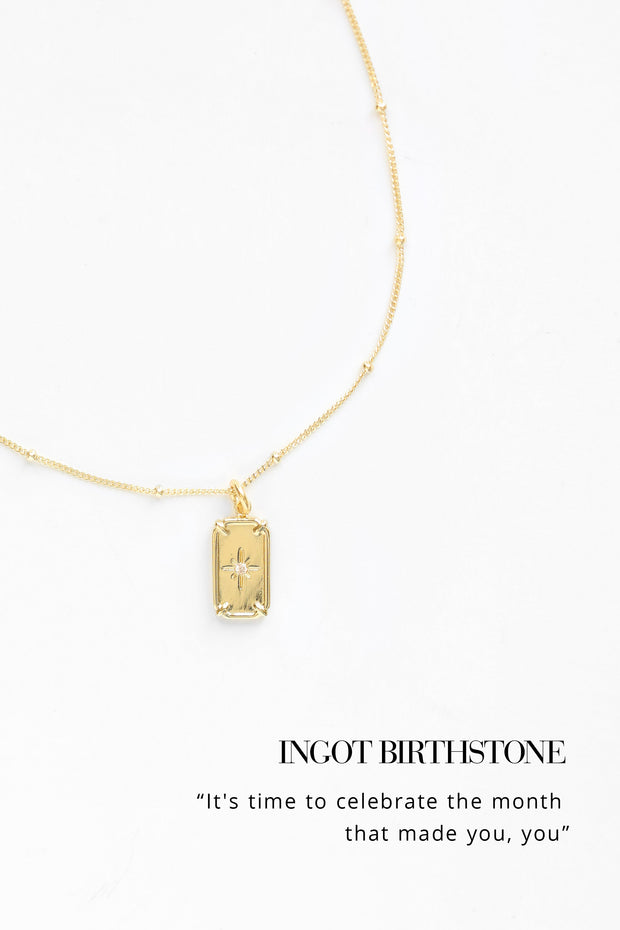 Ingot Necklace