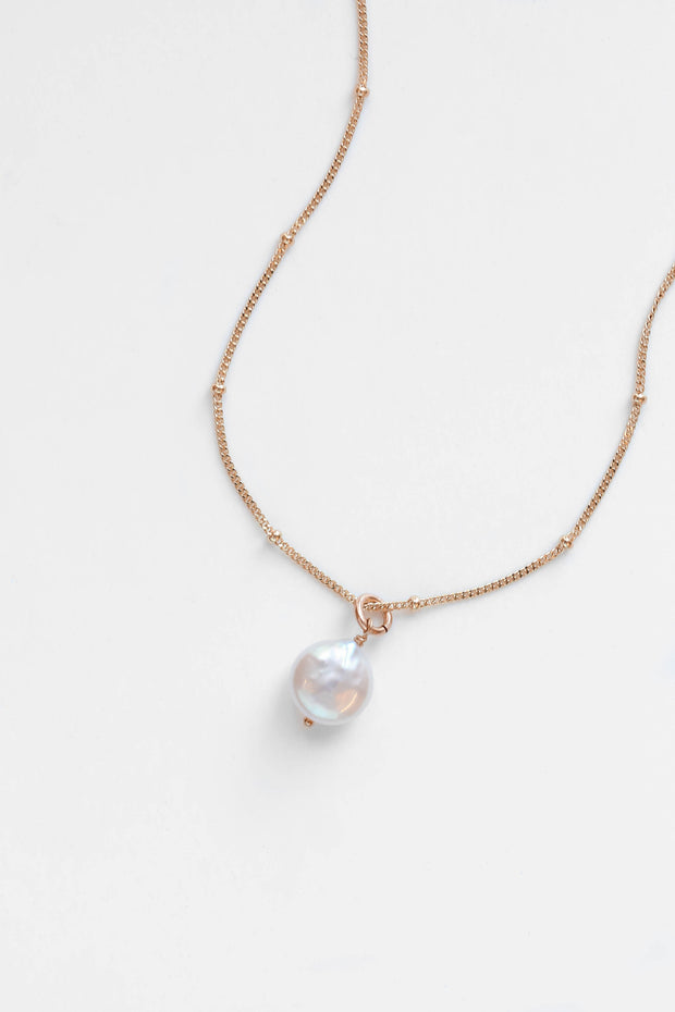 Lulu Pearl Necklace