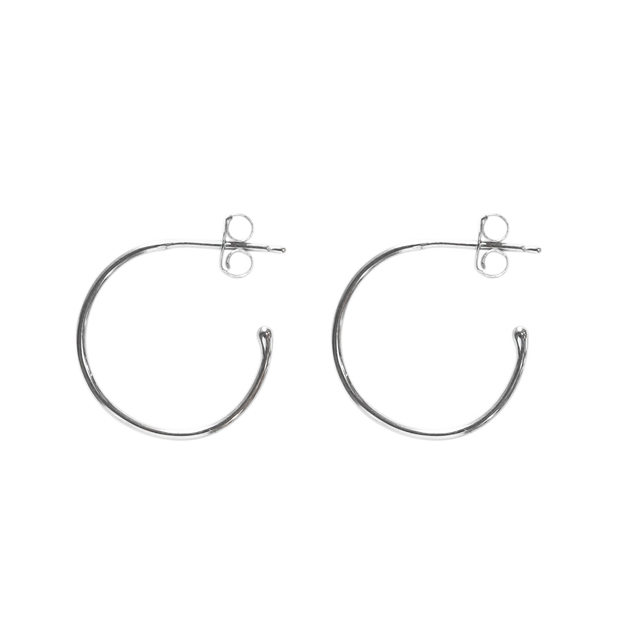 Create Hoops 12mm - silver