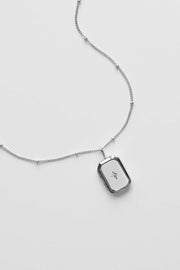 PRE-ORDER : Bevel Locket Necklace
