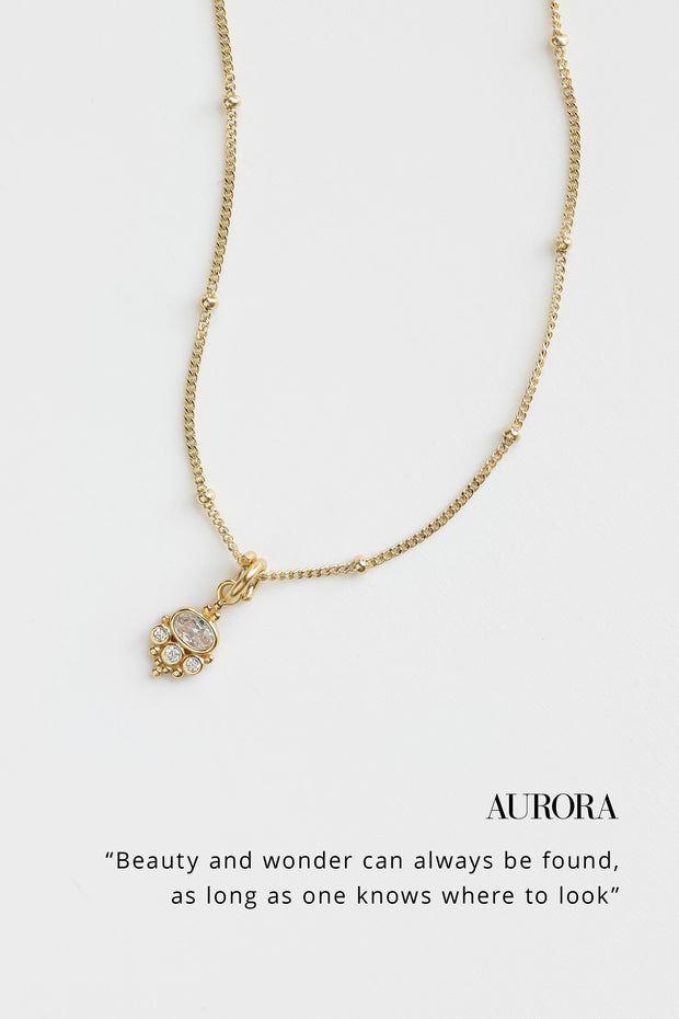 Aurora Drop Necklace