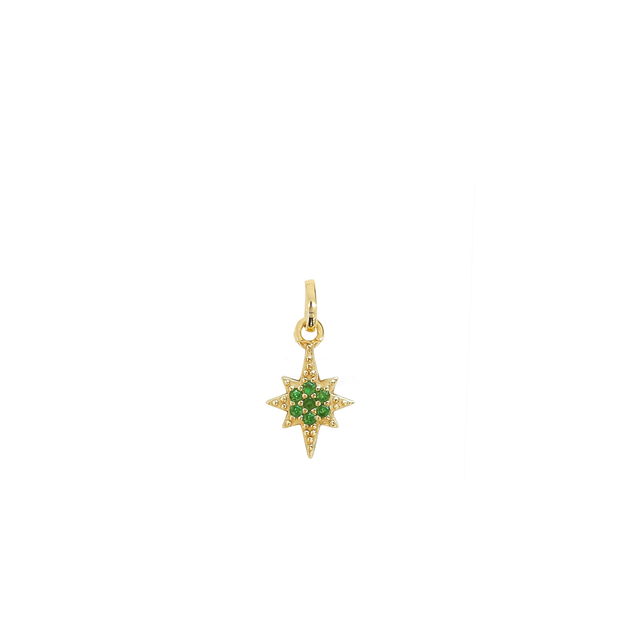 May Star Charm - gold