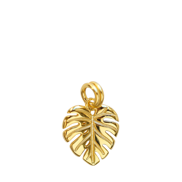 Monstera Charm - gold