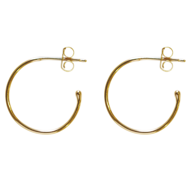 Create Hoops 18mm - gold