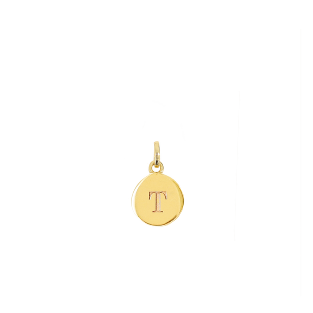 T Charm - gold