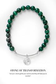 Malachite Lumier Bracelet