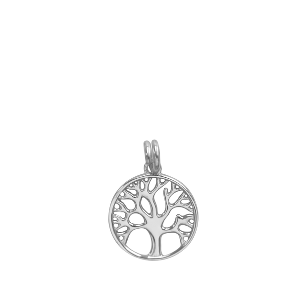 Tree of Life Charm - silver