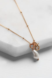 Zodiac Pearl Necklace