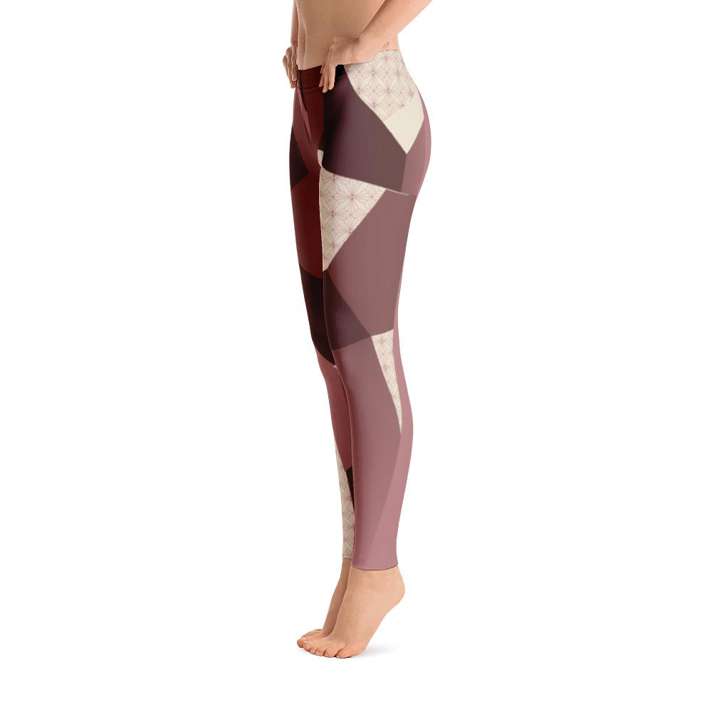 Leggings - Angular Camo  Blush Leggings