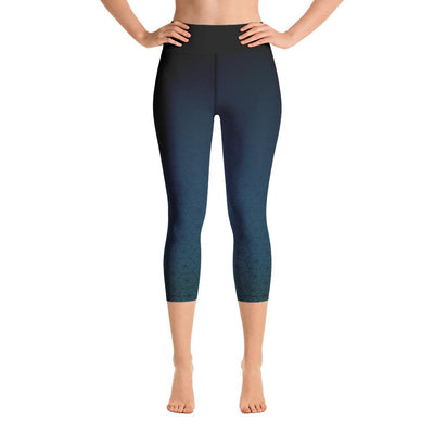 Leggings - Aqua Yoga Capri Leggings