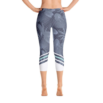 Leggings - Palmetto Grey Capri Leggings