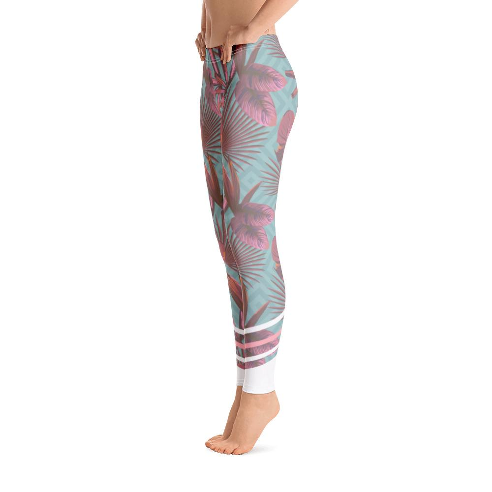 Leggings - Palmetto Teal Leggings